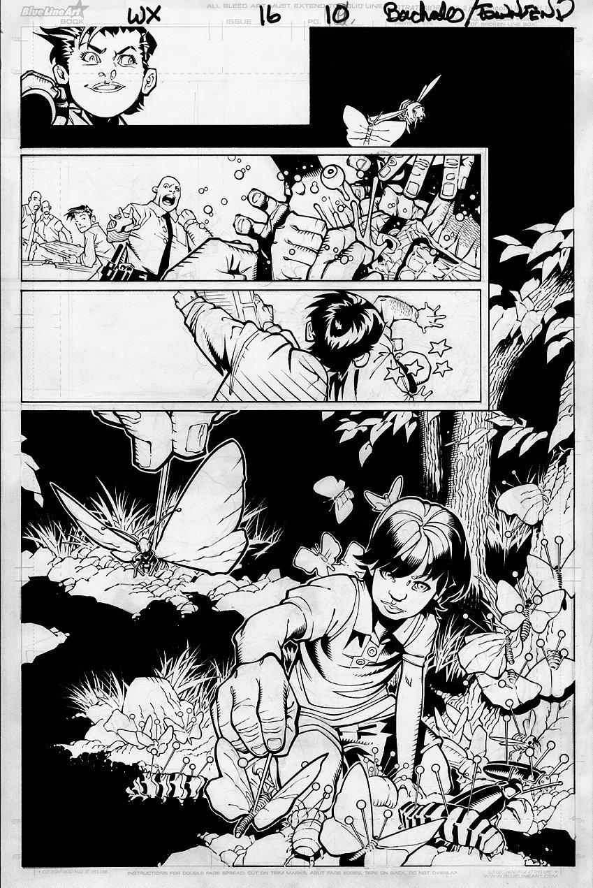 Wolverine & the X-Men #16 p 10 (Origin Issue For Kid Omega!) 2012