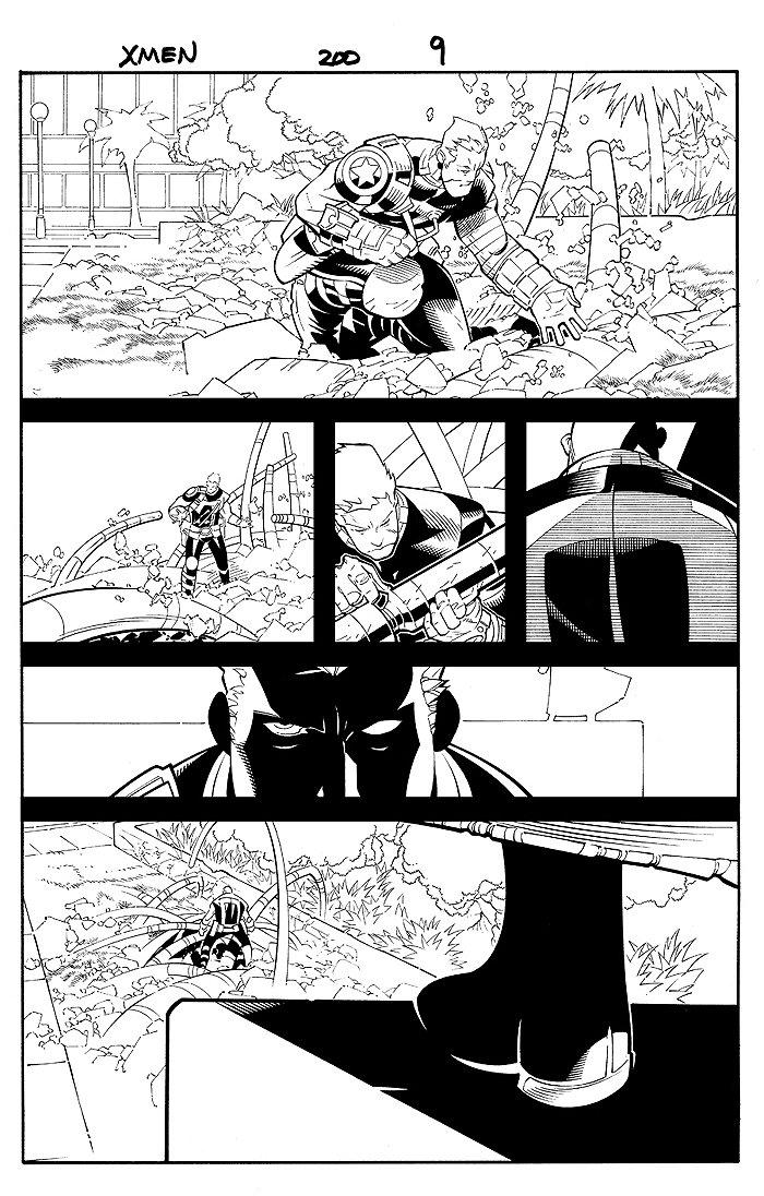 X-Men #200 p 9 (2007)