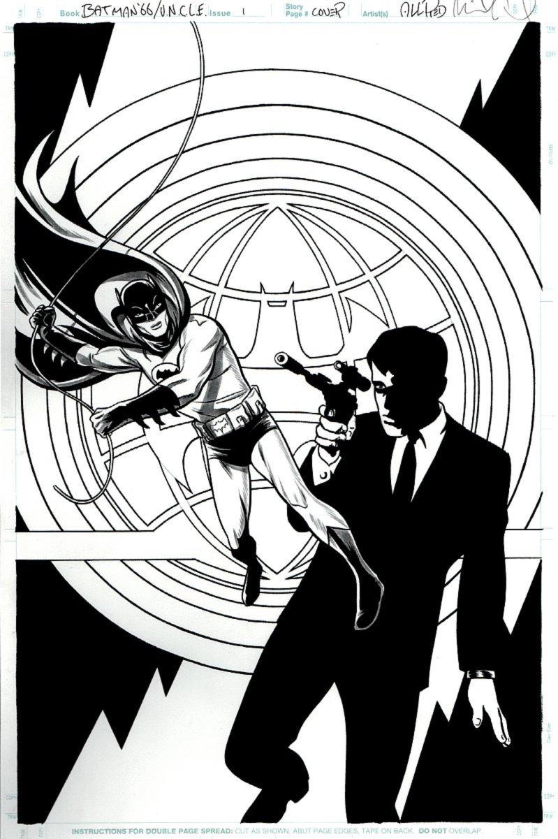 Batman '66 / Man from U.N.C.L.E. #1 Cover (2015)