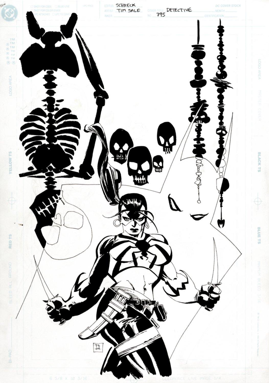 Detective Comics #794 Cover (BATMAN, TARANTULA, SKELETONS & SKULLS!) 2004