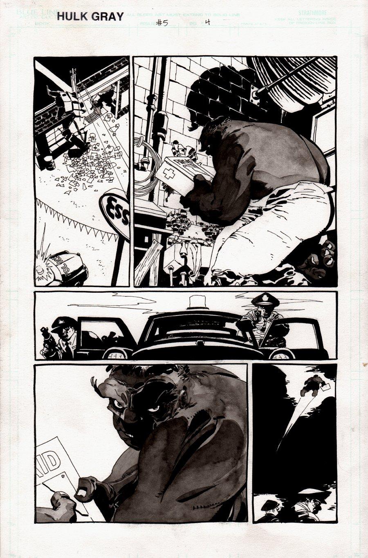 Hulk: Gray #5 p 4  (INCREDIBLE....... HULK!) 2003
