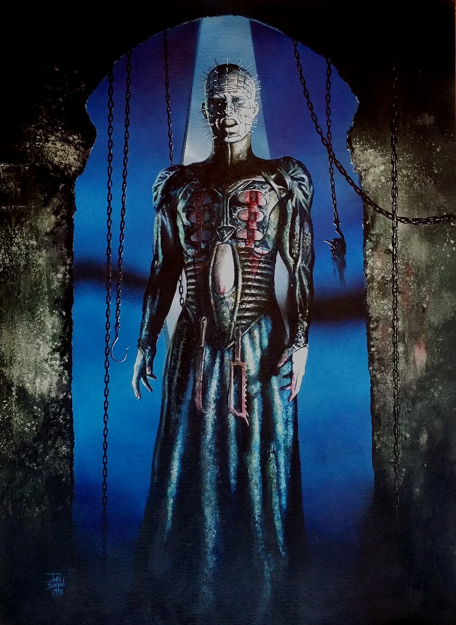 Clive Barker's Hellraiser Cover (HUGE) 1990