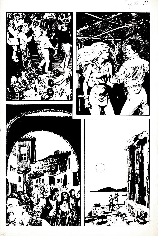 Classic X-Men #24 p 10 (NIKOS Tries To Turn Jean Into The Black Queen!) 1988