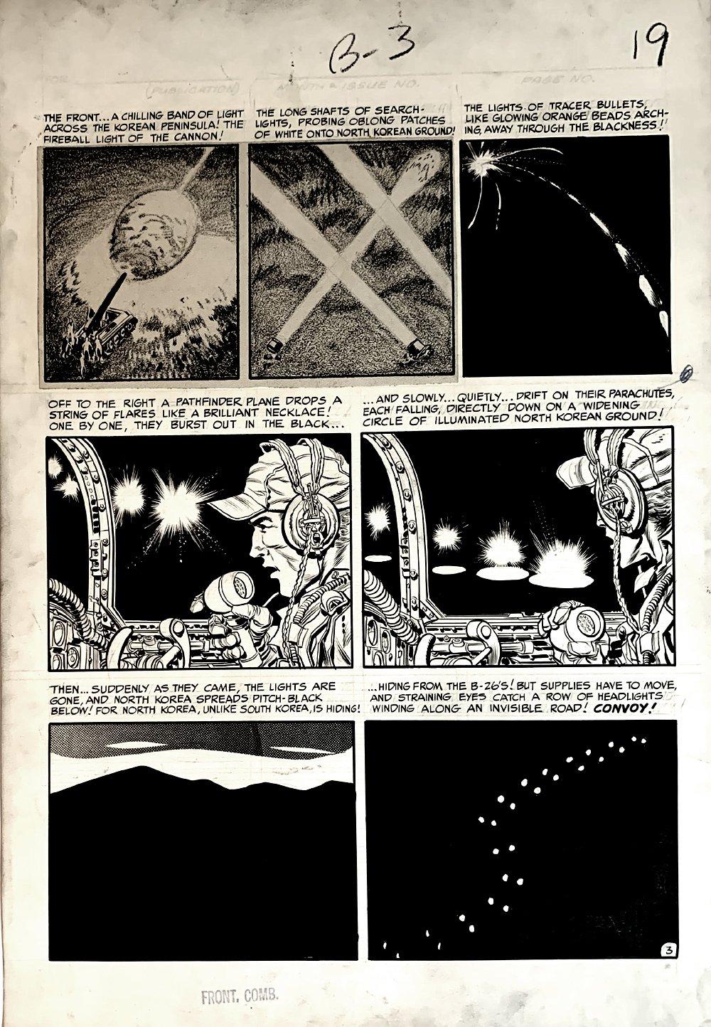 Frontline Combat #12 p 3 (Large Art) 1953