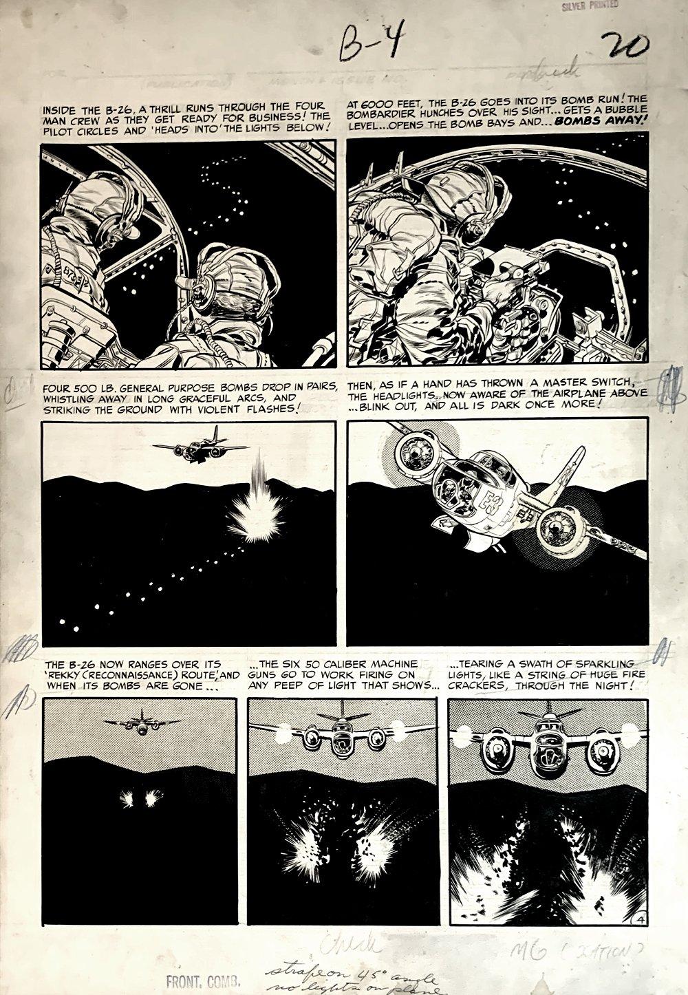Frontline Combat #12 p 4 (Large Art) 1953
