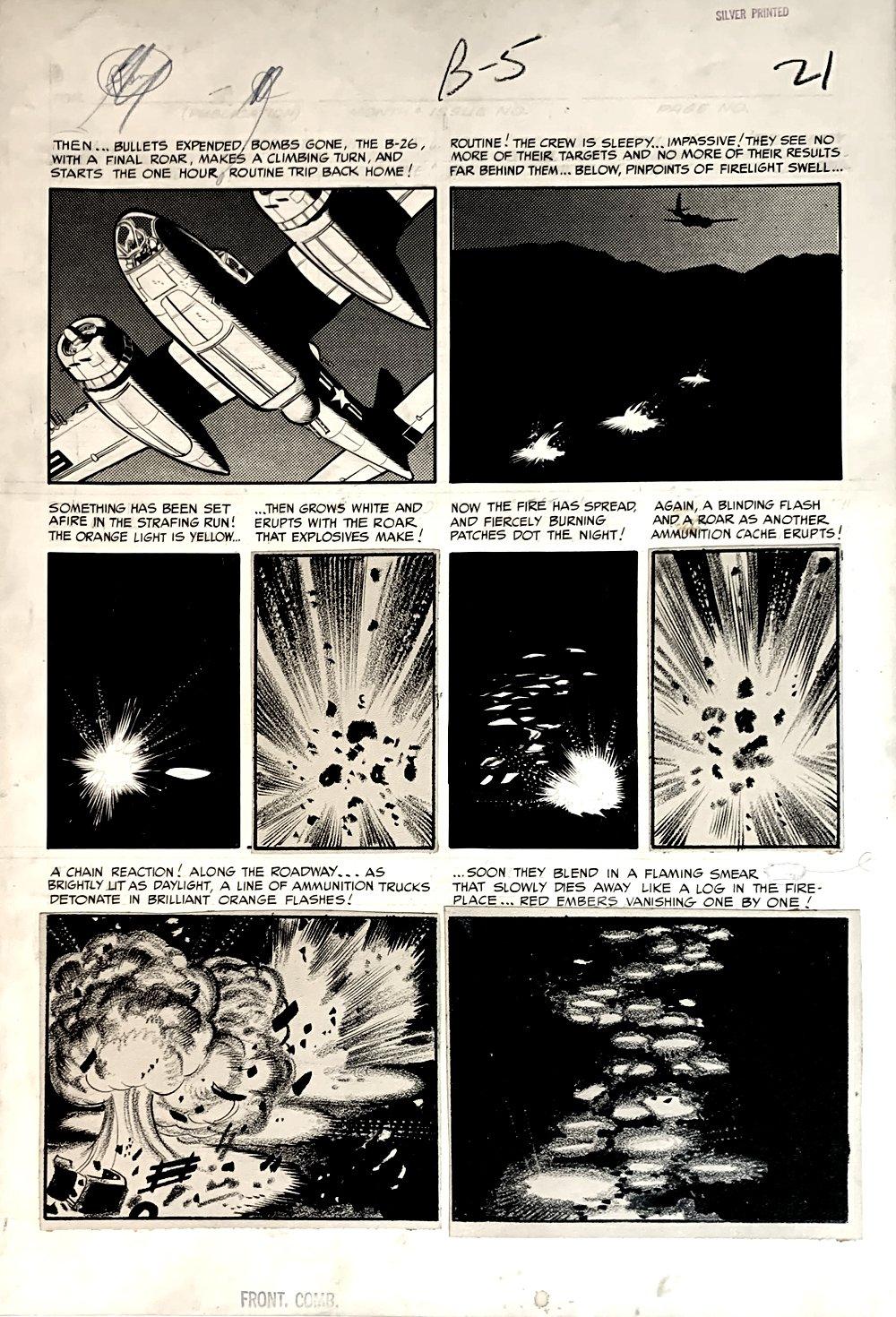 Frontline Combat #12 p 5 (Large Art) 1953