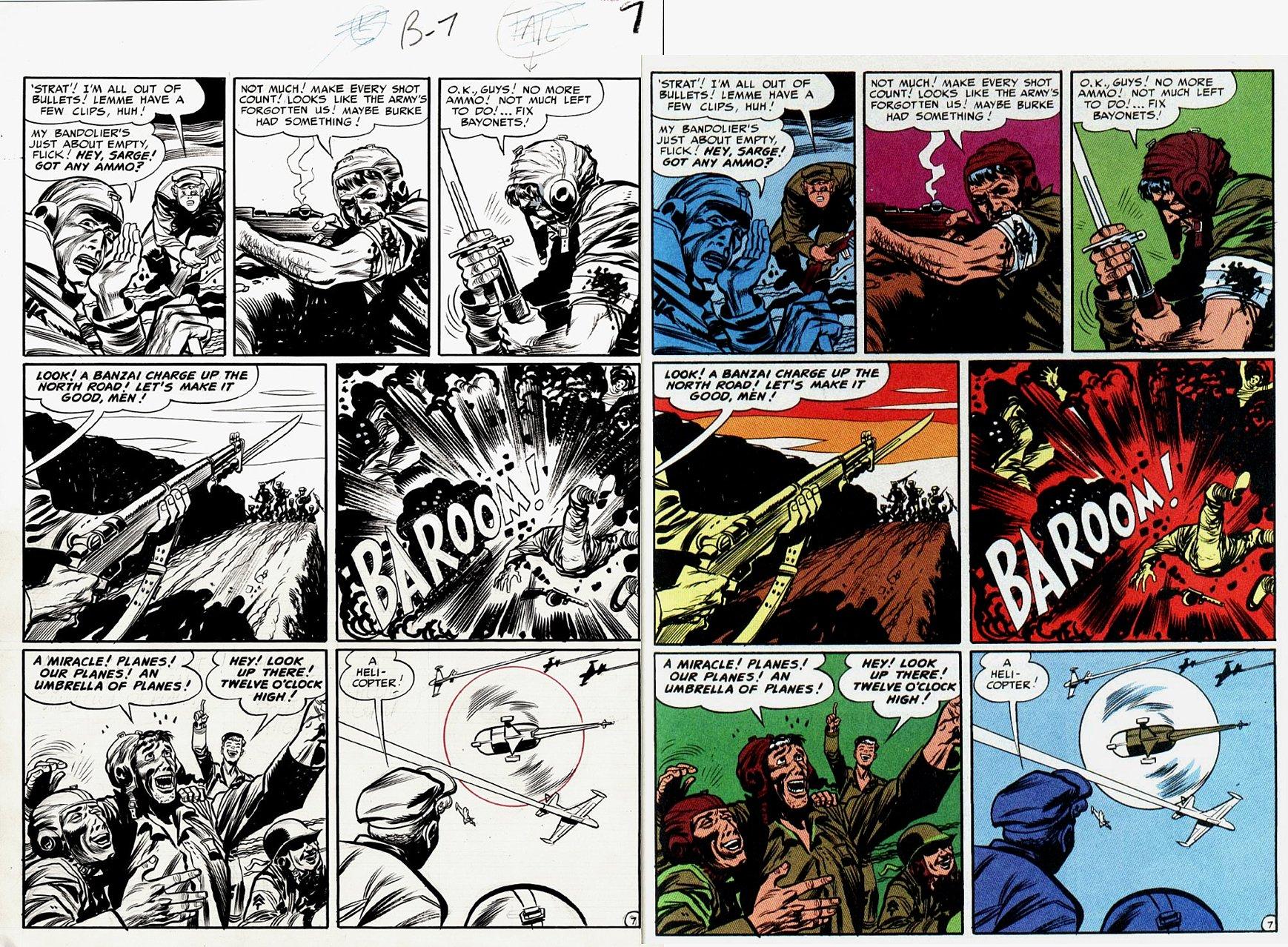 Frontline Combat #2 p 7 (Large Art) 1951
