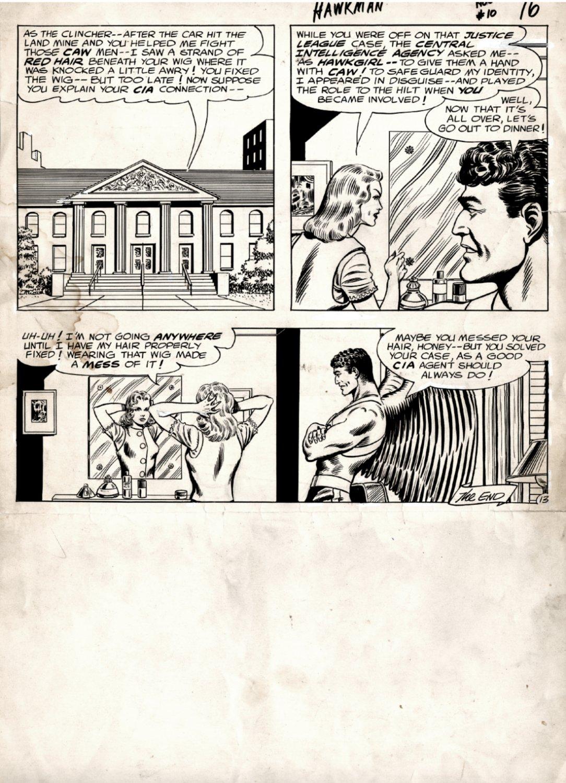 Hawkman #10 p 13 (Large Art) 1965