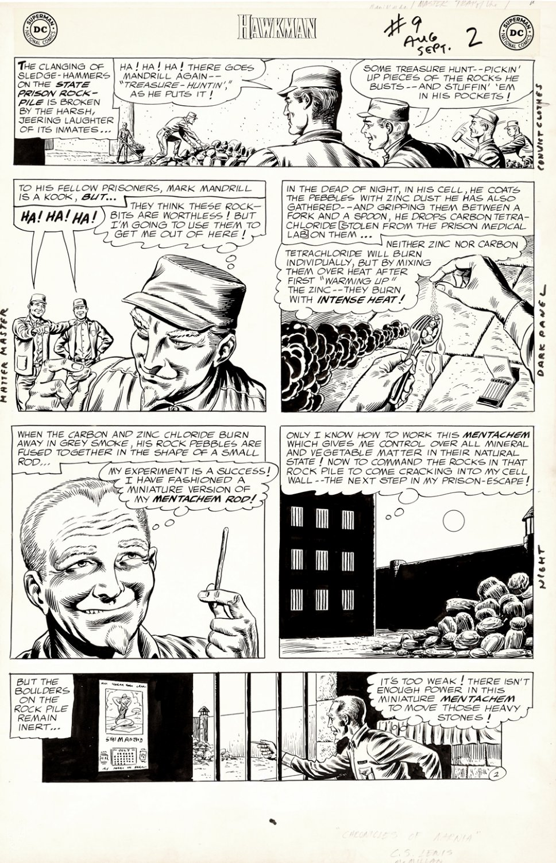 Hawkman #9 p 2 (Large Art) 1965