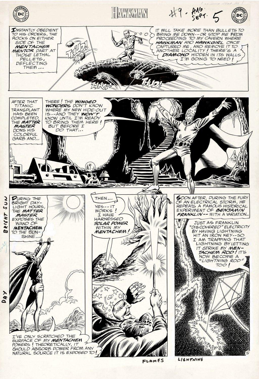 Hawkman #9 p 5 (Large Art) 1965