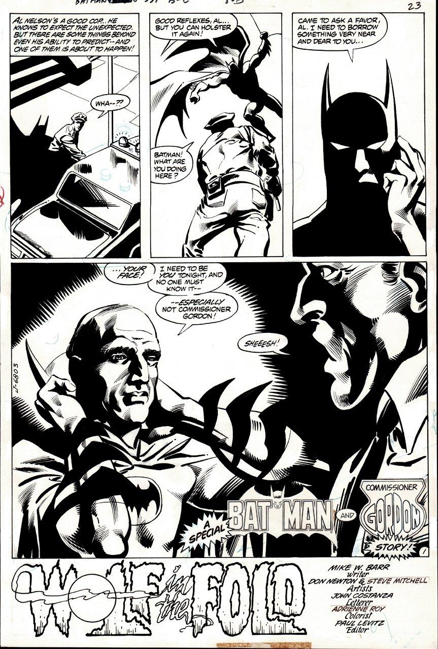 Batman #331 p 1 SPLASH (1980)