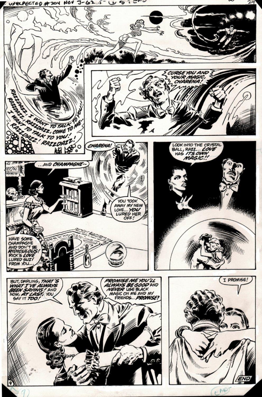 The Unexpected #204 p 9 (STUNNING DON NEWTON ART!) 1980
