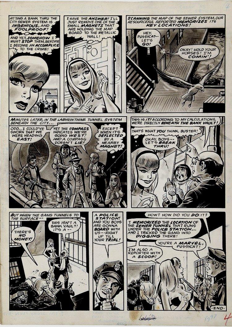 MENS Magazine Pussycat Wash Tone p 4 (1972)