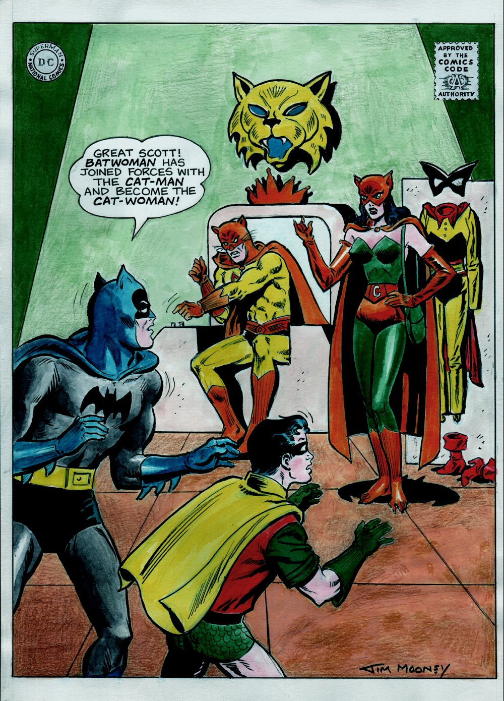 Detective Comics #318 Cover Recreation